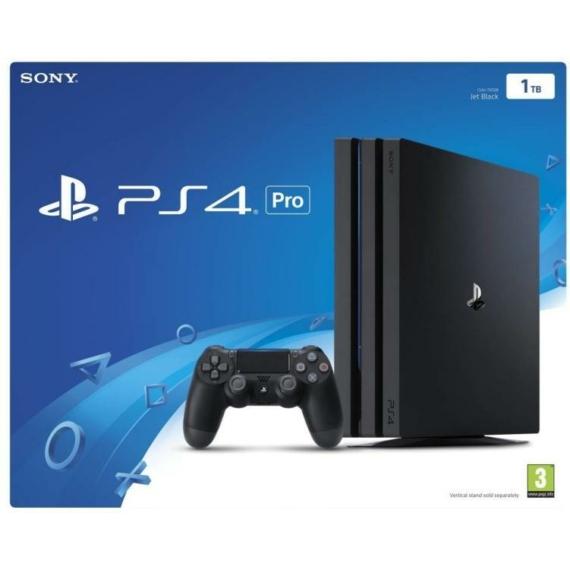 Sony PlayStation 4 Pro Jet Black 1TB (PS4 Pro 1TB) Játékkonzol