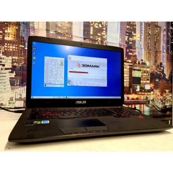 ASUS ROG STRiX GAMING NOTEBOOK - Core™ i7 4720HQ // 16GB DDR3 // GeForce® GTX980M 4GB // SSD+HDD