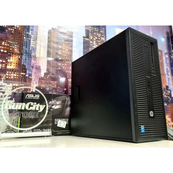 No.399 GAMING PC // Core™ i3 4160 // 8GB DDR3 // GeForce® GT1030 2GB // 500GB HDD