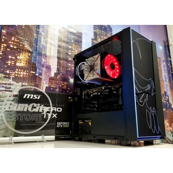 No.491 GAMING PC // Core™ i7 9700K (9th.Gen.) // 16GB DDR4 // MSI GeForce® GTX1060 AERO OC