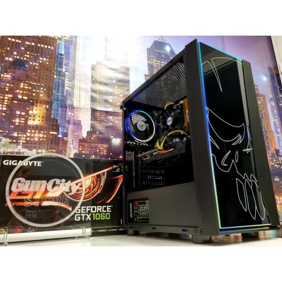 No.502 GAMING PC // Core™ i5 9400 // 16GB DDR4 // Gigabyte GeForce® GTX1060 WindForce