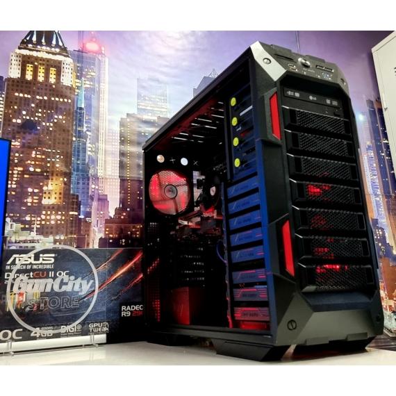 No.496 HeXA-CORE GAMING PC // Ryzen™5 1600 // 8GB DDR4 // ASUS Radeon™ R9 290 4GB DirectCU2