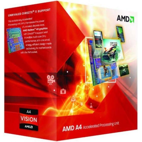 AMD A4-4000 Dual-Core 3GHz FM2 Processzor OEM
