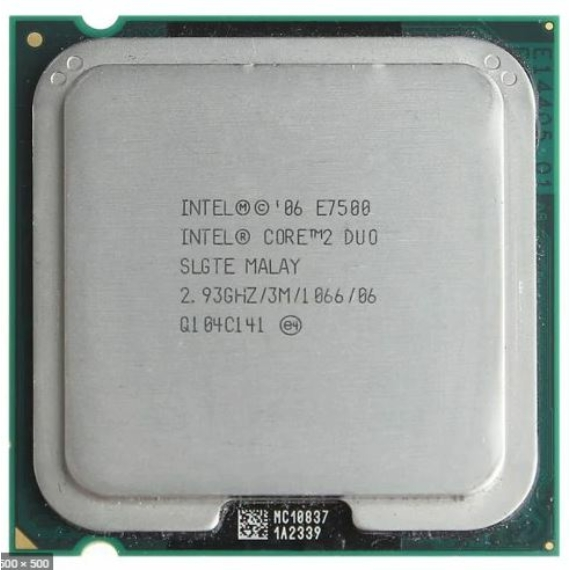 Intel Core2Duo E7500 (DDR2) + MSI MS-7255 v2.1 ALAPLAP + 80GB IDE HDD