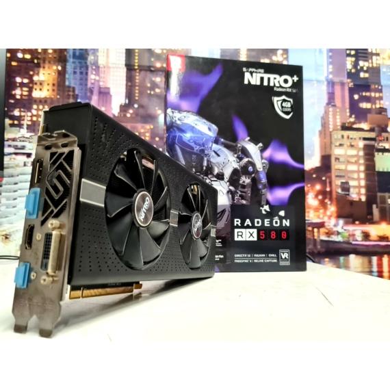 Sapphire Radeon™ RX580 4GB GDDR5 NiTRO+ OC