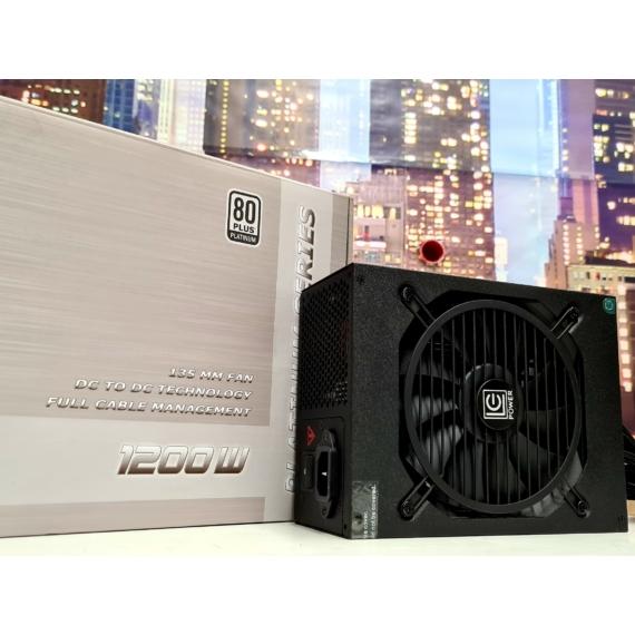 LC-Power Platinum Series LC1200 V2.4 1200W 80+ Platinum Full Modular Tápegység