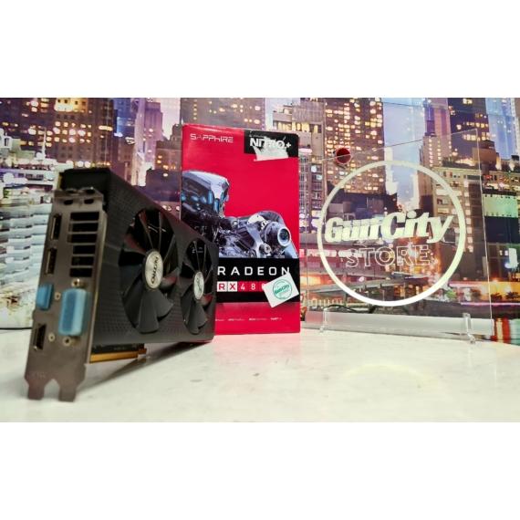 Sapphire Radeon™ RX480 4GB GDDR5 NiTRO+ 256bit OC