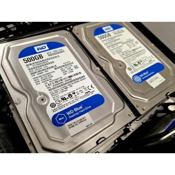 WD Blue 500GB WD500AAKX (SATA3, 7200RPM, 100/100, Desktop HDD)