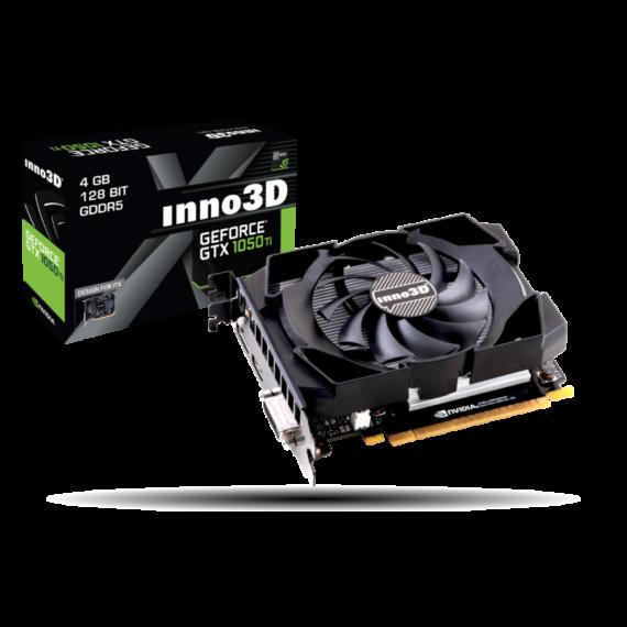 inno3D GeForce® GTX 1050Ti 4GB OC GDDR5 128bit Compact Mini