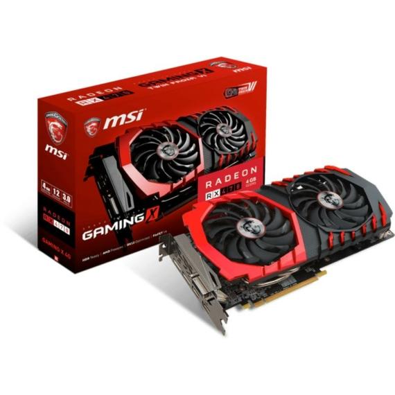 MSI Radeon™ RX470 4GB GDDR5 GAMING-X OC