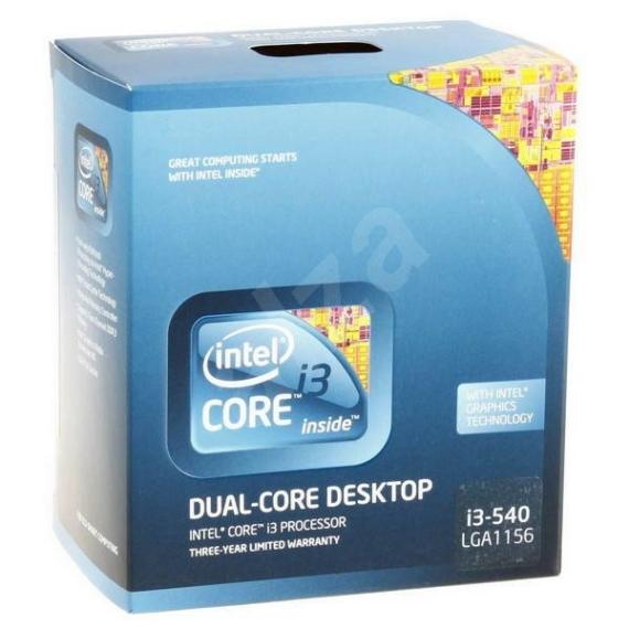 Intel Core i3-540 3.06GHz LGA1156 Processzor OEM