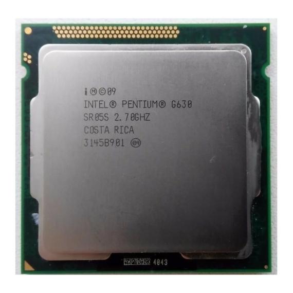 Intel Pentium Dual-Core G630 2.7GHz LGA1155 Processzor OEM